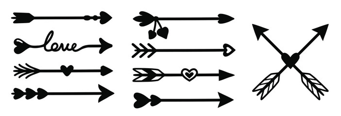arrow decoration set.