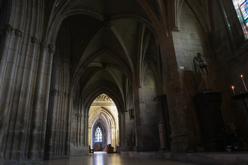 Architecture and grandeur of Cathedrals and Temples in France Fototapete