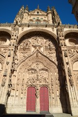Salamanca Cathedral in Spain