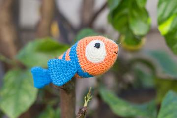 Ravelry: nemo clownfish with coral pattern by ternura amigurumi | 240x360