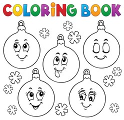 Acrylic Prints For Kids Coloring book Christmas ornaments 1