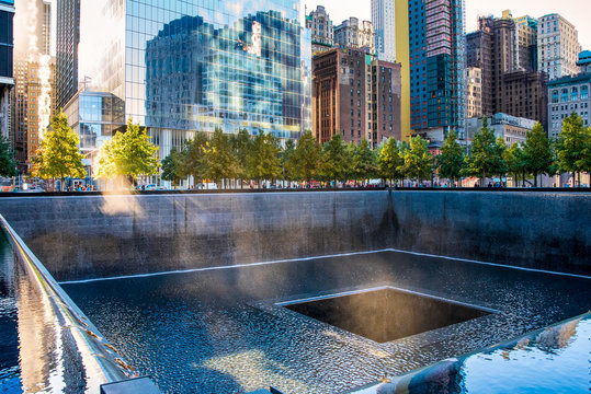 September 11 Memorial in New York City, USA