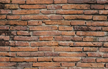 Old brick wall background wall House wall