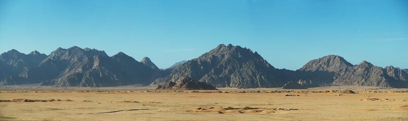 Landscape of Sinai Peninsula. Egypt.