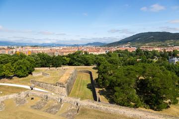 Pamplona, Spain. Citadel, XVI - XVIII centuries