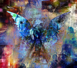 Touch of an Angel. Spiritual art