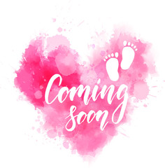 Coming soon - pregnancy announcement