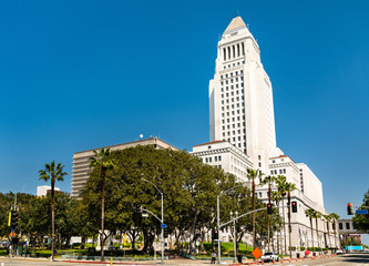 Los Angeles City Hall in California