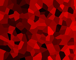 Illustration, background and texture. Colors: yakro-red and black, crimson. The image looks like diamonds. The tone is rich, colorful.