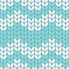 Vector seamless knitted pattern.  Natural fabric fibers
