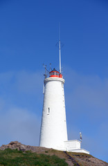 Leuchtturm Reykjanesviti,Island
