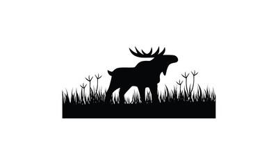 Moose Vector Royalty Logo Design Inspirations