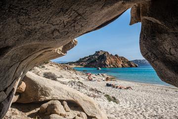 Sardegna, isola di Spargi Wall mural