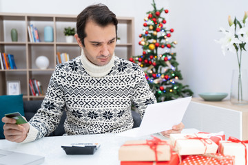 Man tapped out and without money for christmas gifts