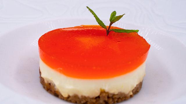bavarois orange