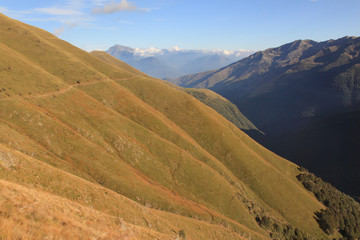 Saumpfad am Valle Albano (Comer Voralpen)