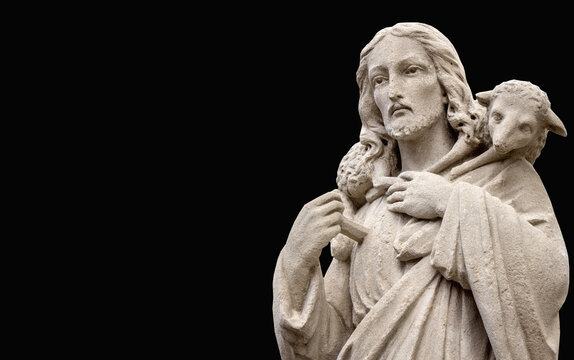 Jesus Christ is the good shepherd
