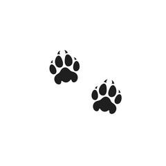 Panther paw print