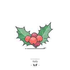 Holly - Line color icon