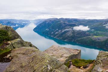 Prekestolen or Pulpit Rock..