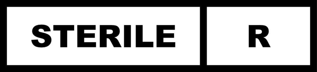 Sterile R Symbol For Packaging