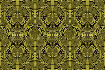 Textured African pattern with artistic curves