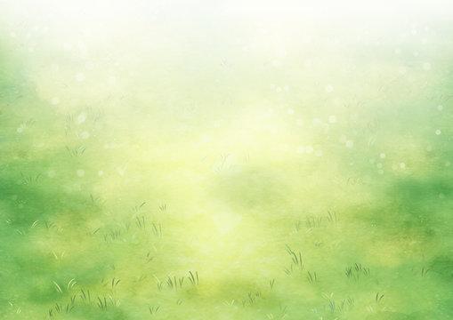 芝生 草原 背景 風景