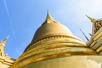 Golden pagoda, Grand Palace & Temple of the Emerald Buddha, Bangkok, Thailand