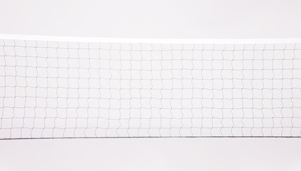 Isolated Volleyball Net on the white background
