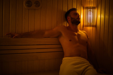 Fototapeta His way of relaxing.