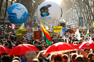 Global Climate Strike of the Fridays for Future movement in Cologne
