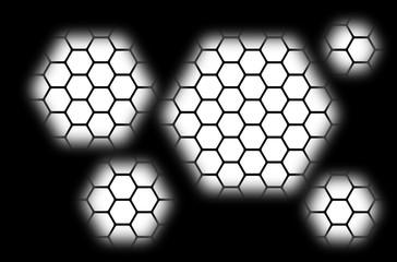 fond nid d'abeilles