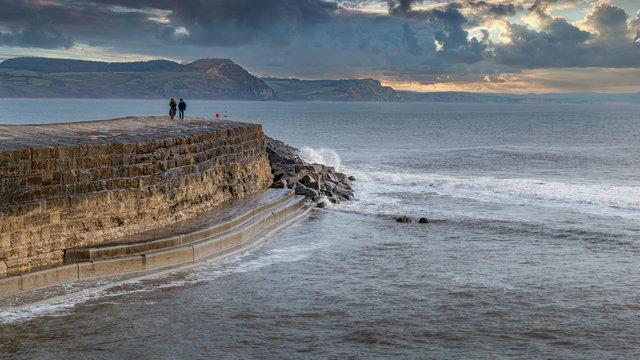 Winter Sea Wall