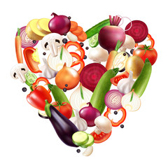 Heart Of Vegetables Composition
