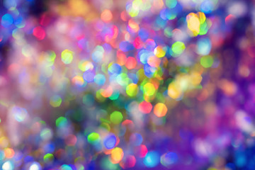 Holographic neon abstract background Fototapete