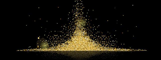 golden stars background