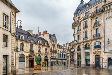 Fotomurales - Street in Dijon, France