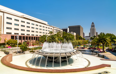 Fountain in Grand Park, Downtown Los Angeles