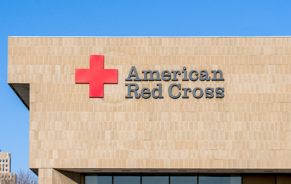 American Red Cross Exterior Building and Logo