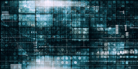 Information Technology Wall mural
