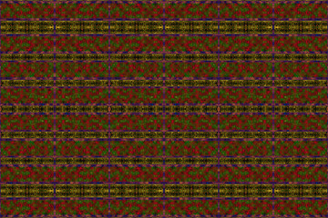 Textured African fabric with a striped pattern