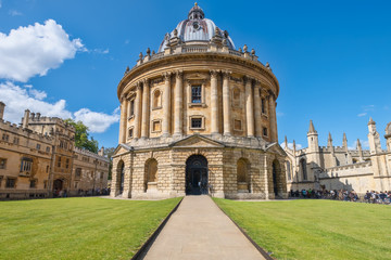 The Radcliffe Camera, a symbol of the University of Oxford