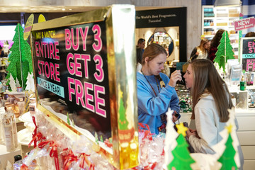 People shop in King of Prussia Pennsylvania on Black Friday