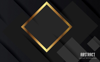 abstract background geometric black and grey color modern design