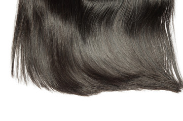 straight shinny black human hair weaves extensions lace wigs