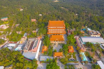 23 Nov 2019 A Ngong Ping temple, Lantau island, Hong Kong.