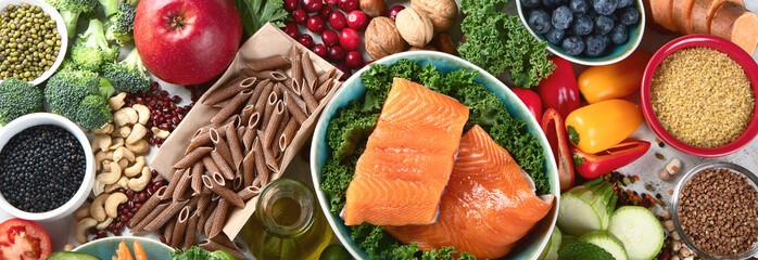 Foto op Aluminium Eten Healthy food