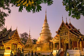 Fototapeten Kultstatte Wat Phra Singh in Chiang Mai, Thailand