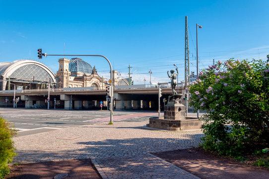 Friedrich-List-Platz, Hauptbahnhof, Seevorstadt, Südvorstadt - Stadt Dresden, Sachsen