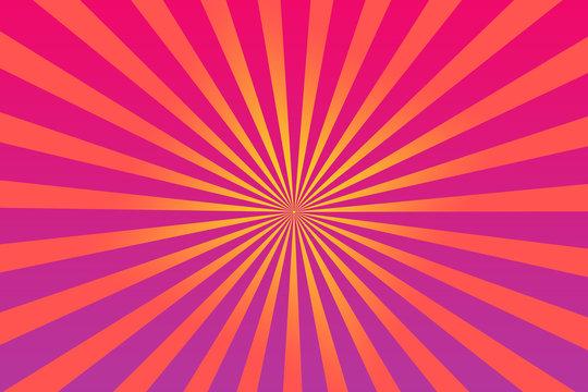 An abstract sunburst shape background image.